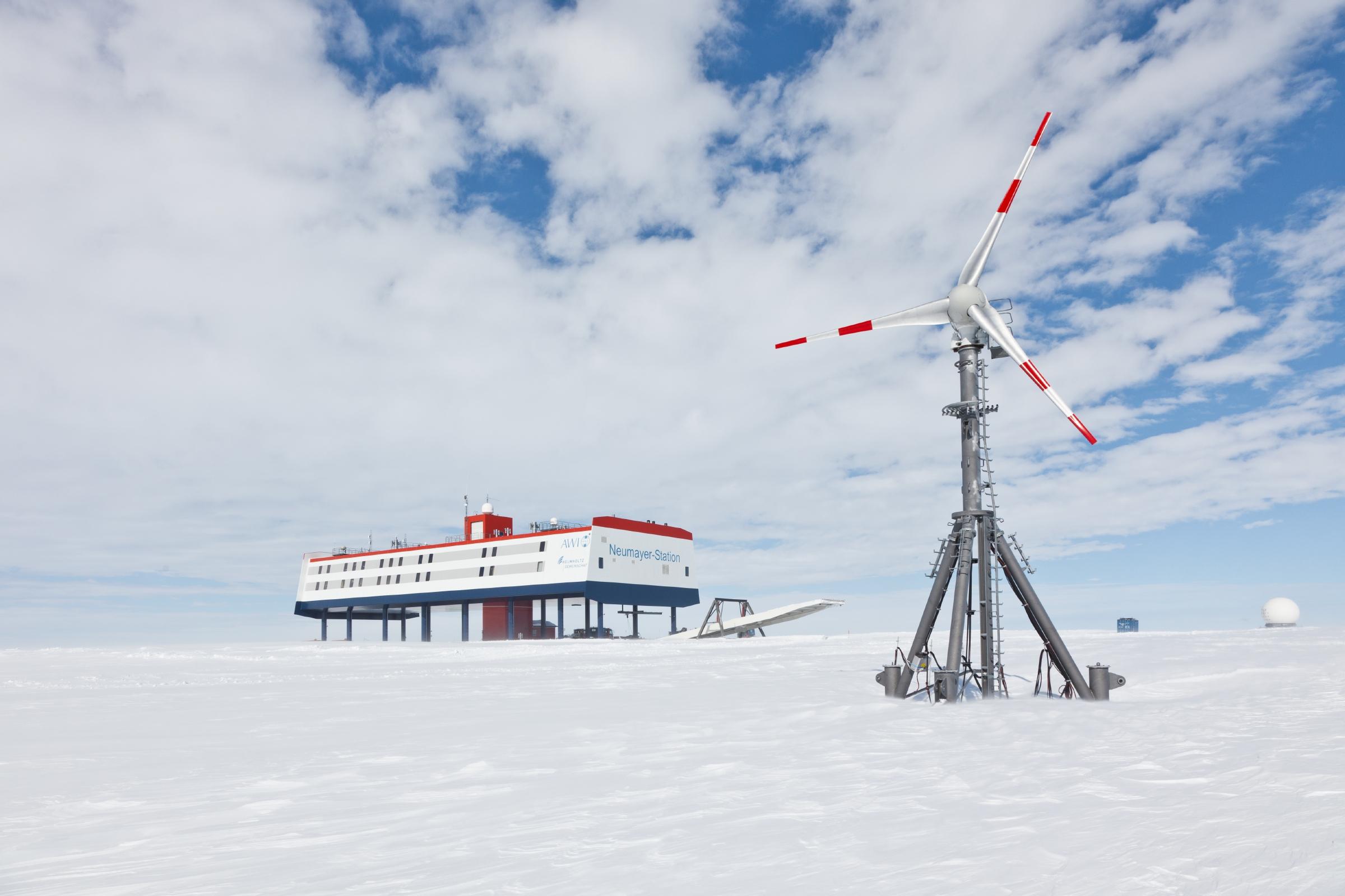 Windkraftanlage Wind Generator