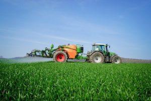 Herbizid-Einsatz