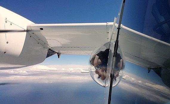 Walzählung per Flugzeug