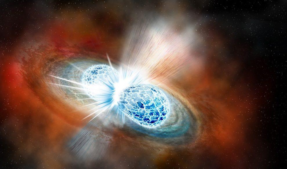 Neutronenstern-Kollision