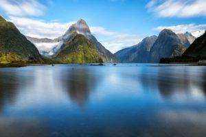 Milford Sound in Neuseeland