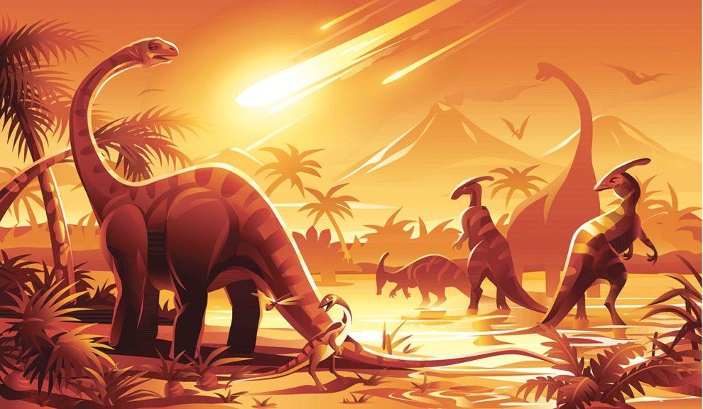 Dinosaurier-Sterben