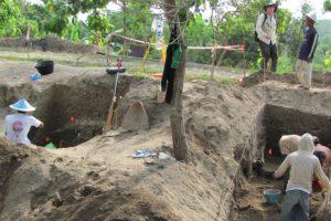 Ausgrabungen in Ngandong