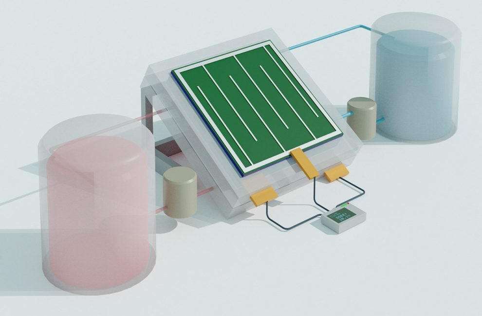 Solar-Flow-Batterie