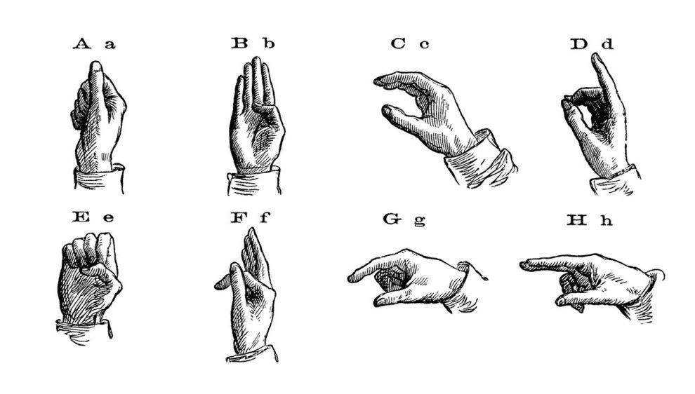 Gebärden-Alphabet