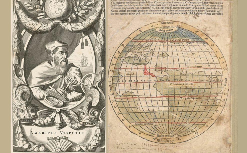 Vespuccis Karte