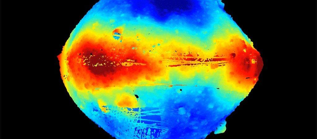 Bennu-Aufnahme der Raumsonde Raumsonde OSIRIS-REx, 2019