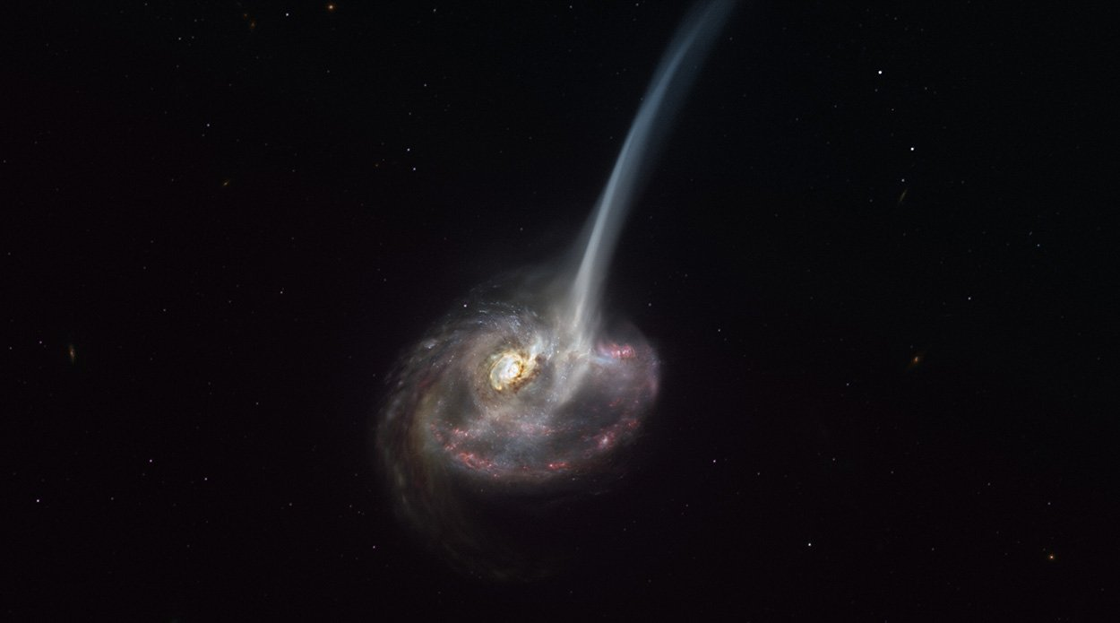 Kollision-l-sst-Galaxie-erl-schen