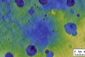 Mars-Landschaft