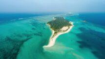 Malediven-Insel