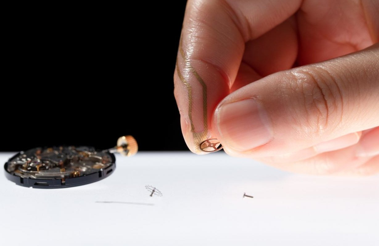 Hauchd-nner-Fingerkuppen-Sensor