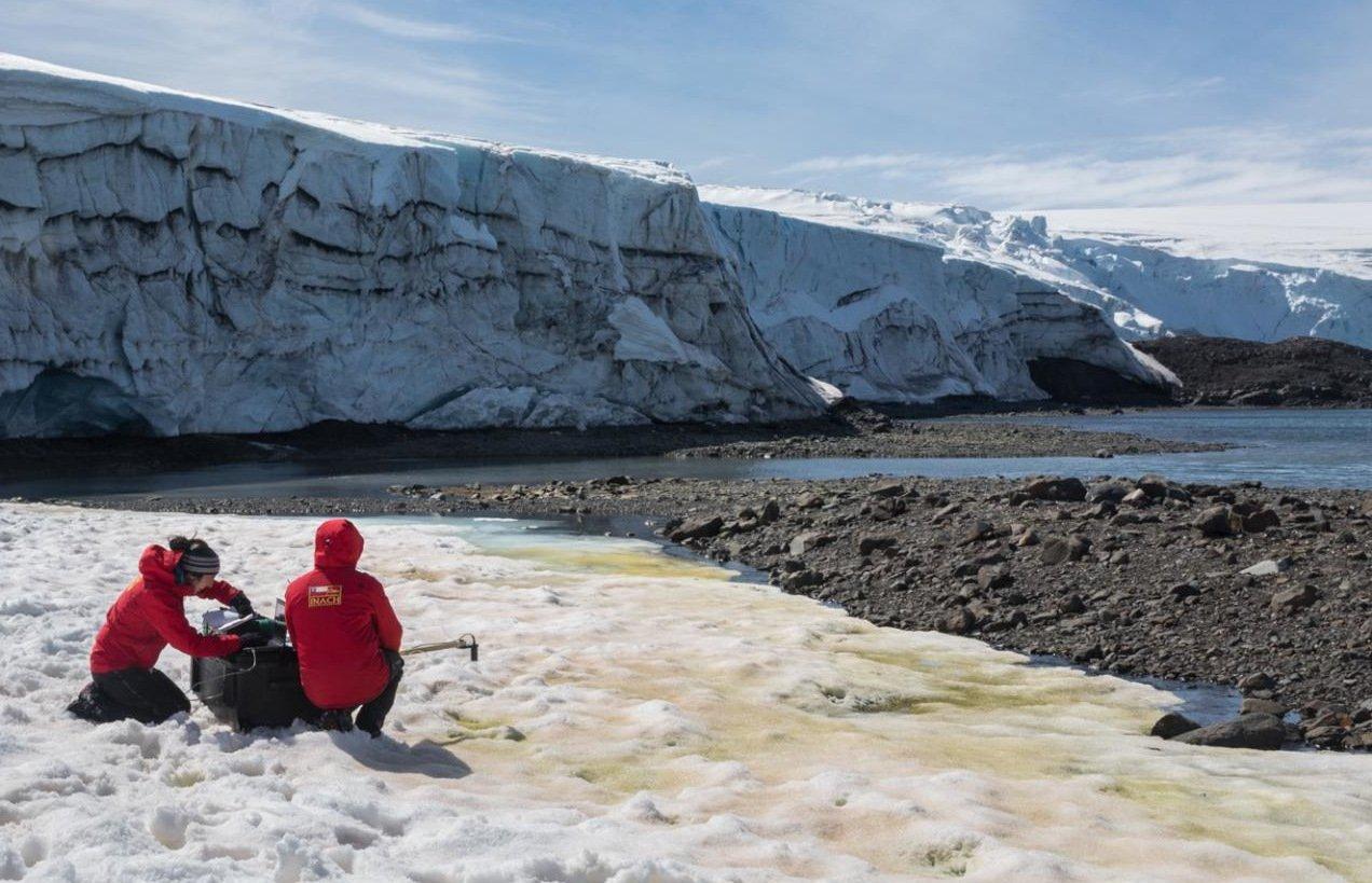 Antarktis-F-rbung-mit-Schmelz-Effekt