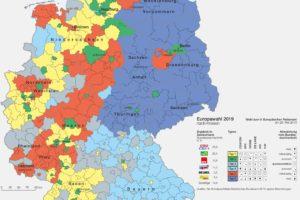 Deutschlandkarten Wissenschaft De