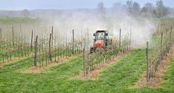 Pestizid spritzen