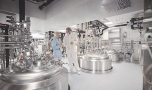Biotechnologie-Fertigungslabor