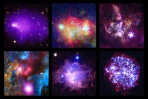 Chandra-Aufnahmen