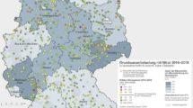 Deutschlandkarte Nitratbelastung des Grundwassers, 04/2021