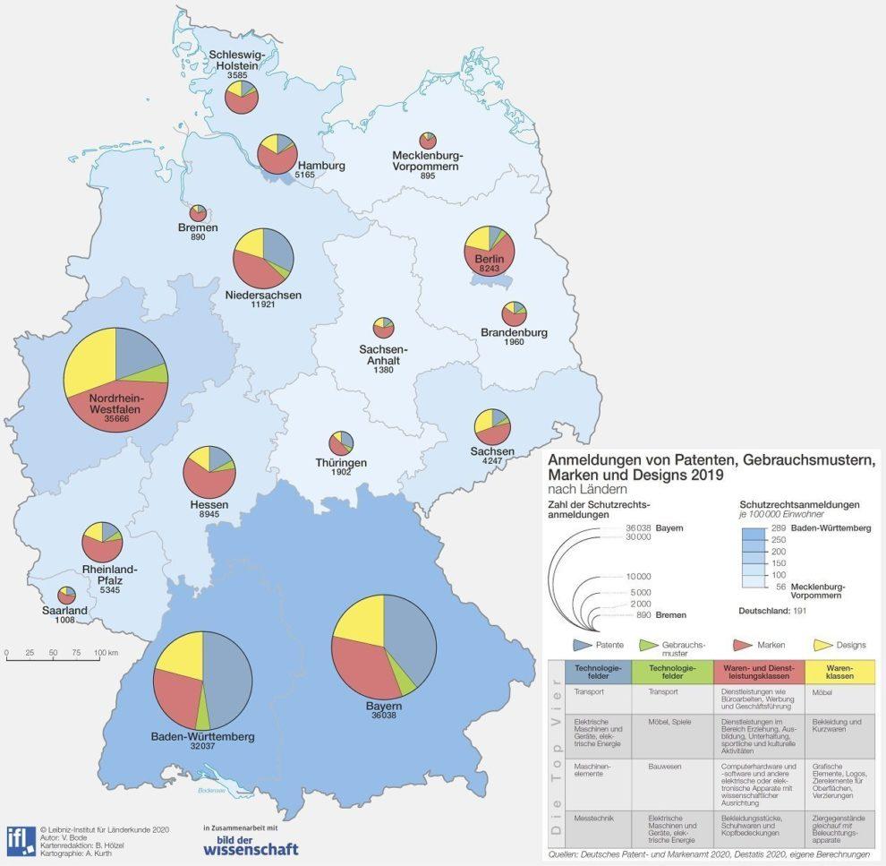 bdw-Karte Deutsches Schutzrecht