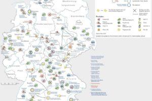 D-Karte geschützte Lebensmittel