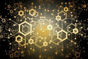 Visualisierung der Blockchain-Technologie