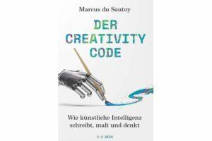 Cover DER CREATIVITY CODE, von Marcus du Sautoy