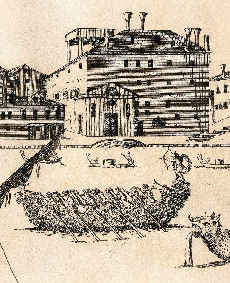 Venice,_Veneto,_Italy.__Perspective_view_of_the_Grand_Canal_with_the_Ospedale_della_Pieta.__Engraving_by_A._Porzio_and_A._Della_Via,_1686_17th_Century.___Museo_Correr_(Art_Museum),_Venice,_Italy.