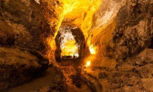 Vulkanhöhle Cueva de los Verdes auf Lanzarote