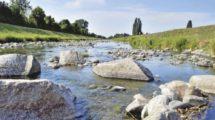 Renaturierter Wasserlauf