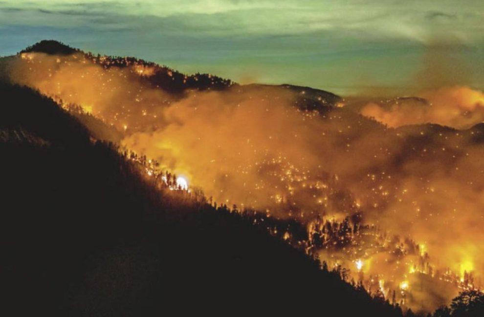 Bobcat Fire im Angeles National Forest in Los Angeles County, nördlich von Azusa, 17.09.2020