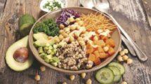 Symbolbild veganes Menü