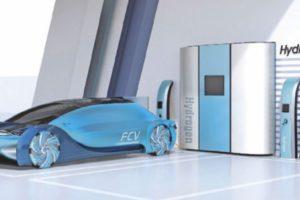 Symbolbild Wasserstoffantrieb